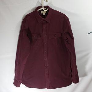 LL Bean Chamois Cloth Shirt Sz L-Tall